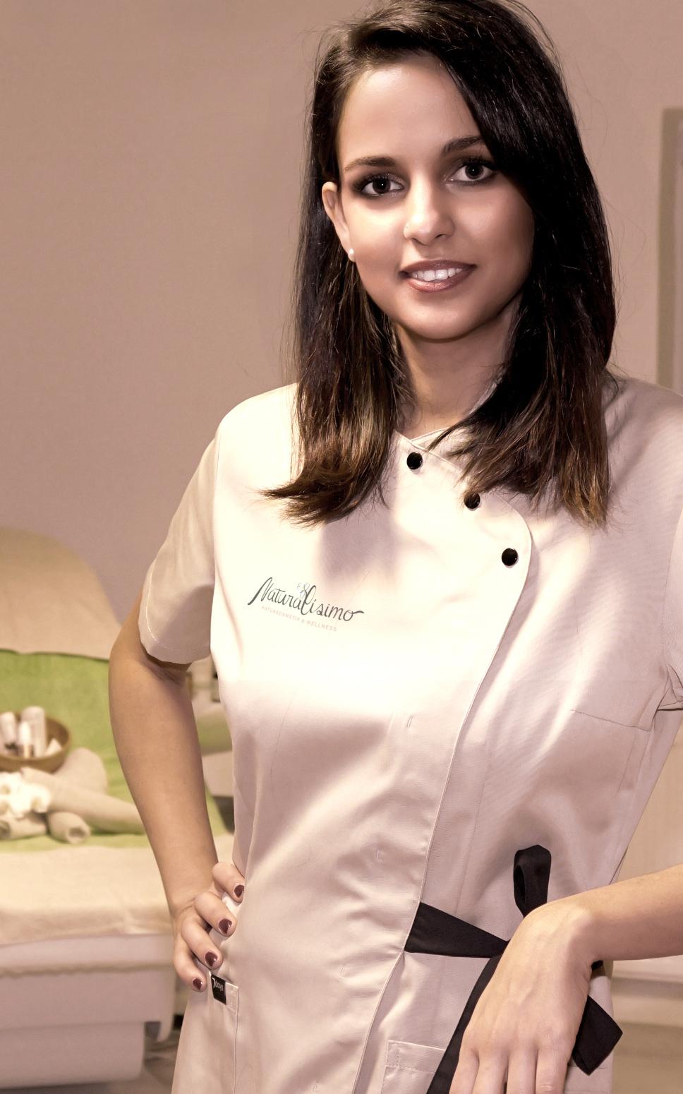 Geily Herrero Zubizaretta, Fachkosmetikerin, Visagistin und Fußpflegerin