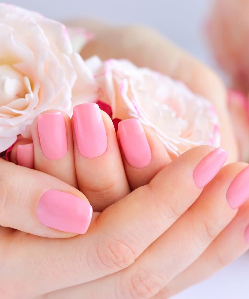 Maniküre, trockene Hände, rissige Haut, Nagelpflege, Lack