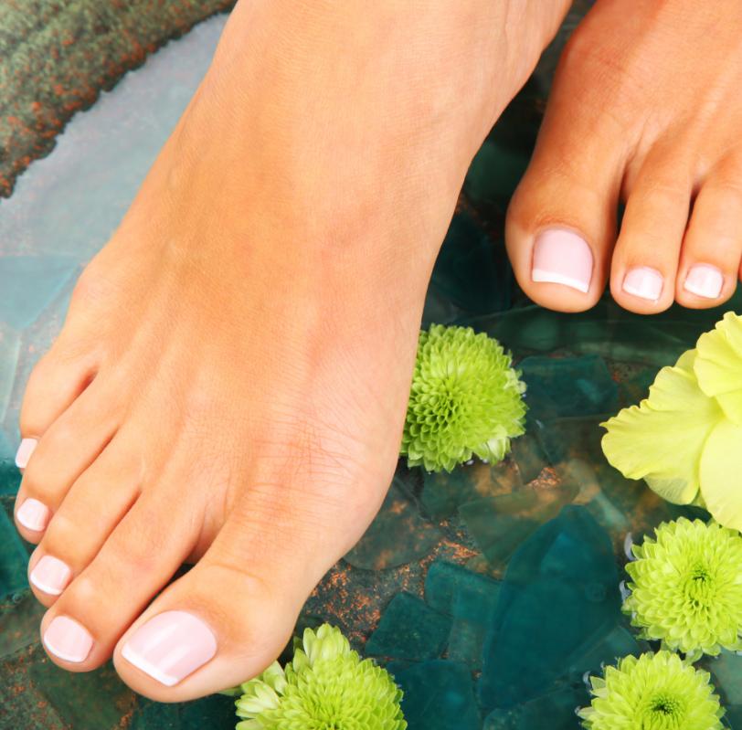 Kosmetische Fußpflege, Lack